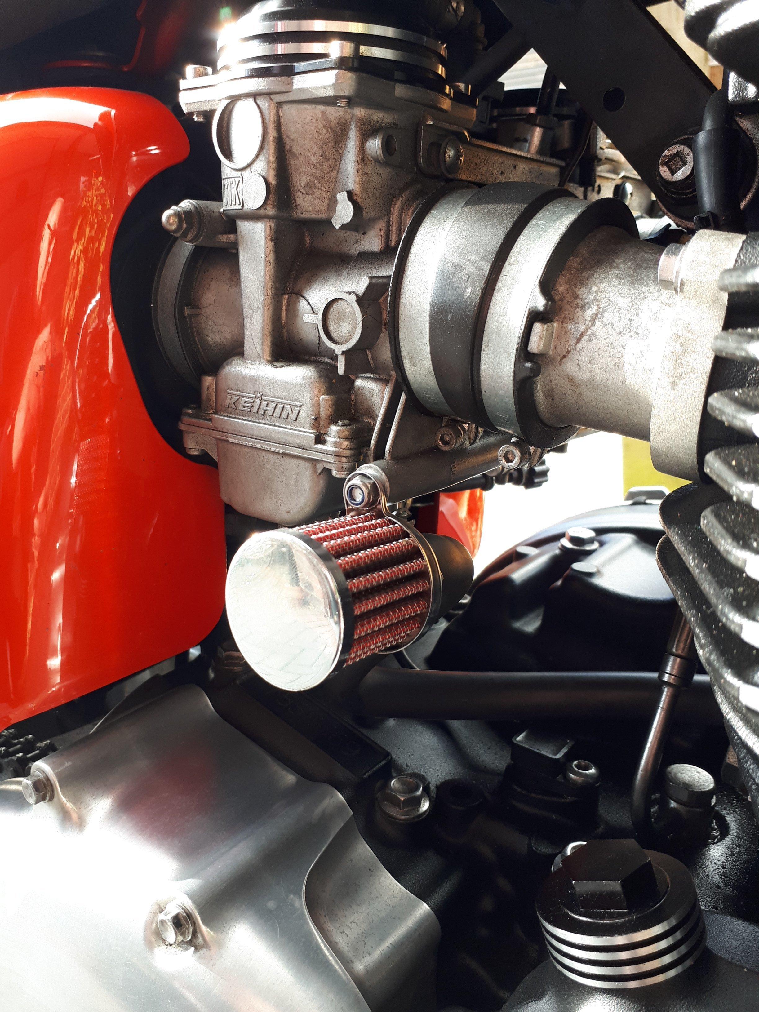 Crankcase Breather Mod | The Triumph Forum
