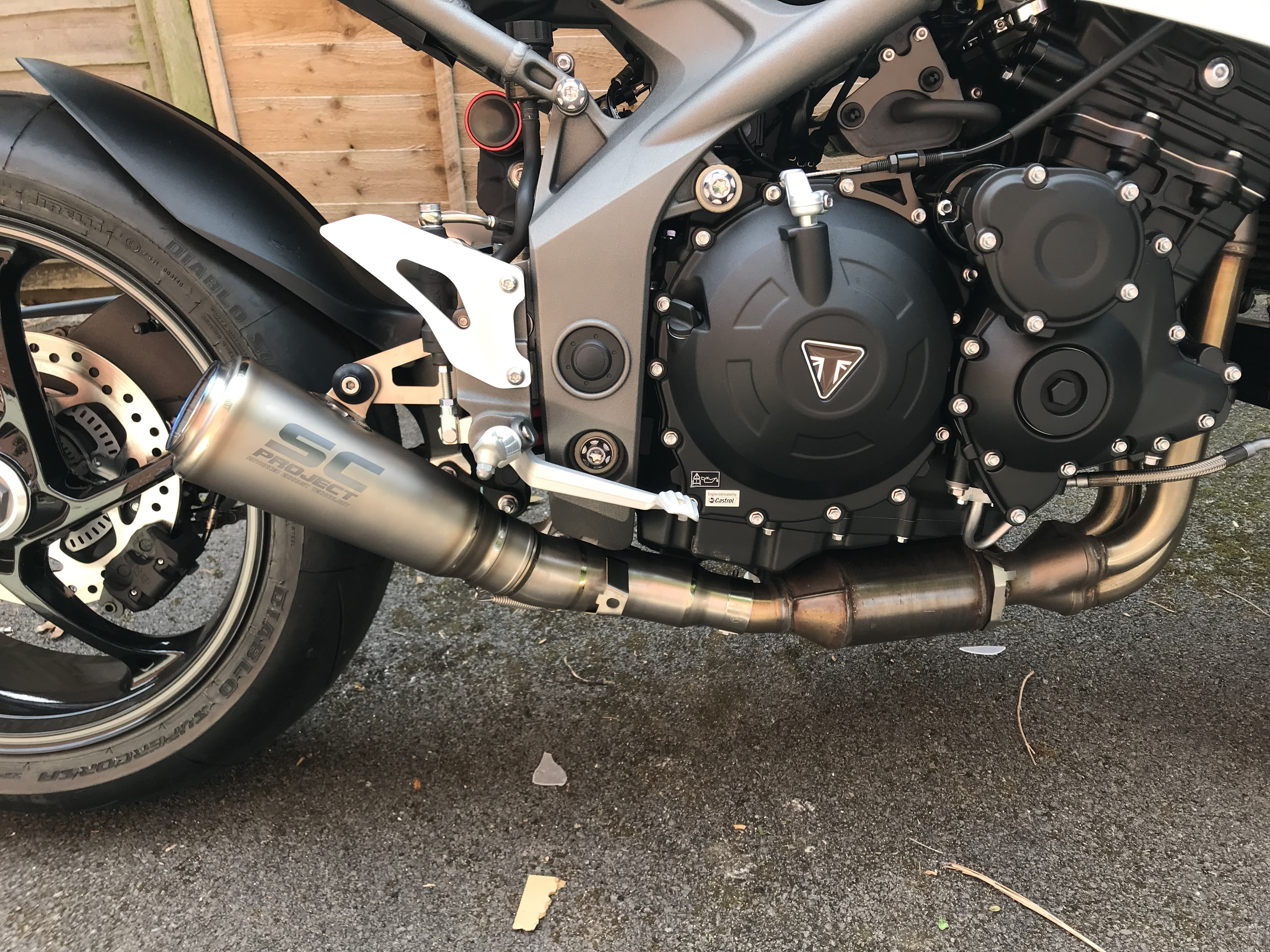 Sc Project S1 Gp Exhaust Arrived | Page 2 | The Triumph Forum