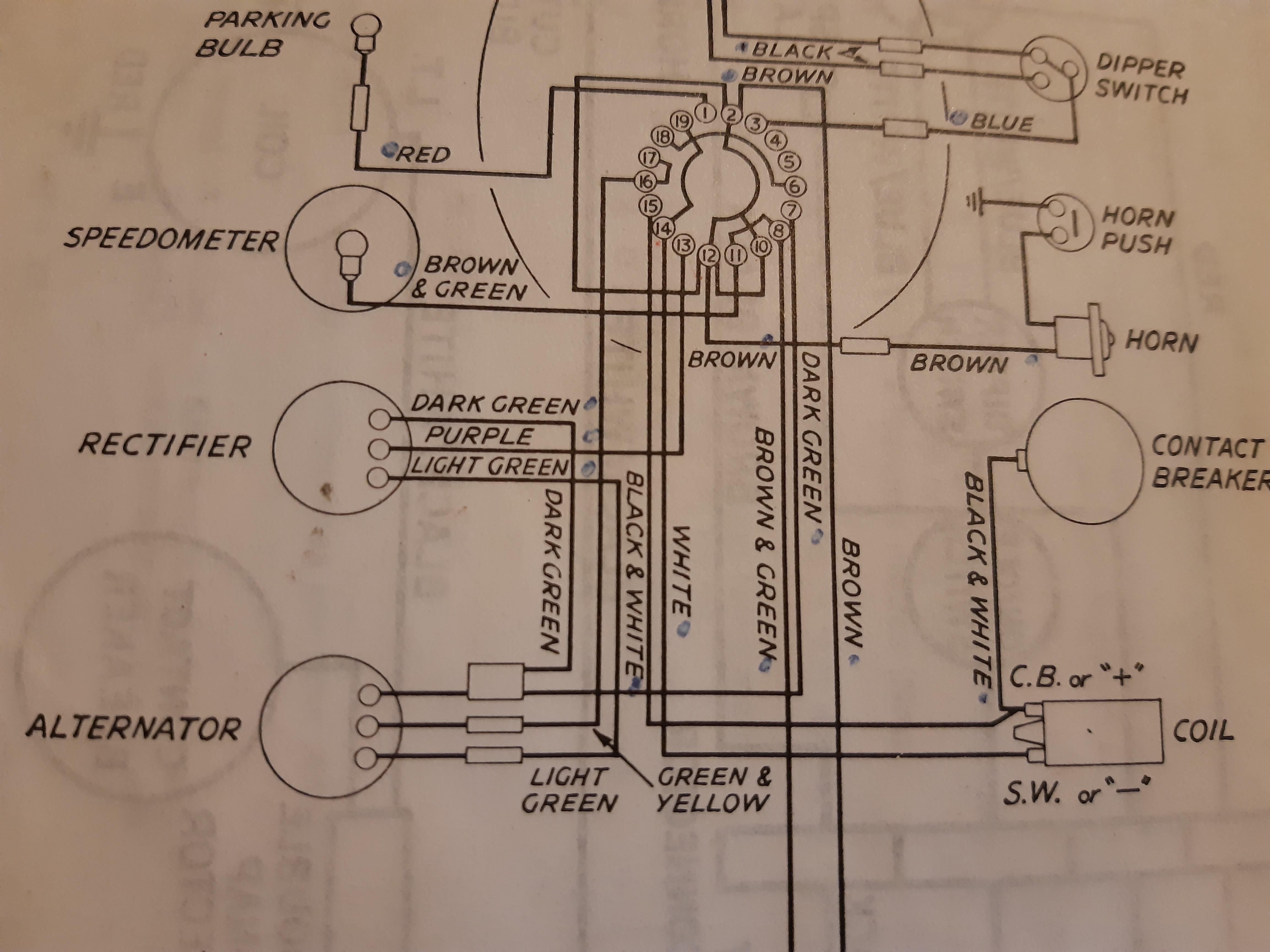 [SCHEMATICS_4NL]  Electrical Help For A Bag Of Nerves | The Triumph Forum | Triumph America Wiring Diagram |  | The Triumph Forum