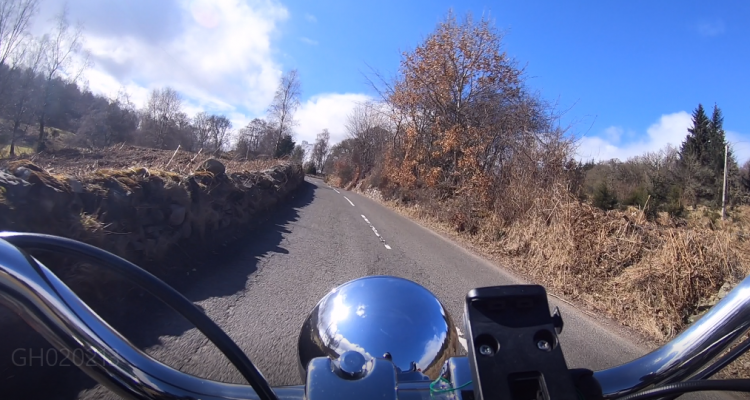 Gopro Photo On My Hog