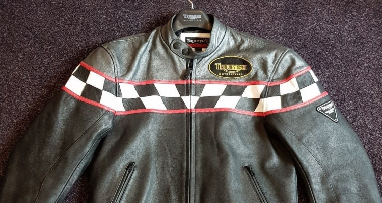 Triumph Leather Jacket Going Free