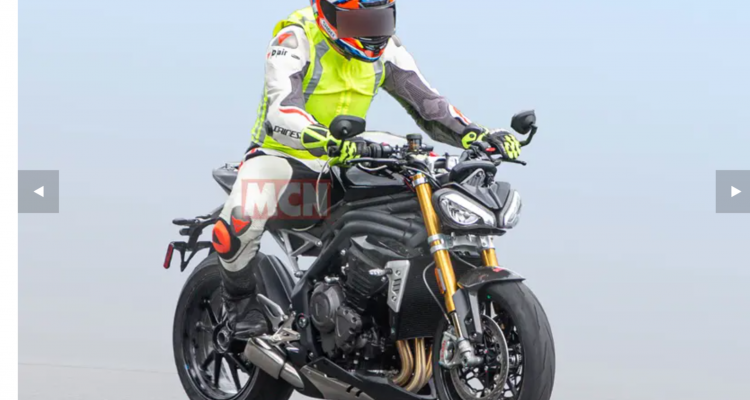 New Speed Triple Sighted
