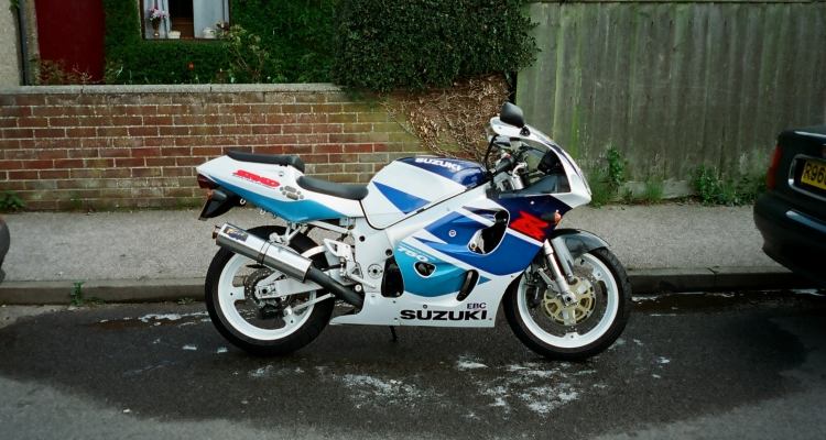 98 Gsx-r 750 Srad (injected) Mini Project...for Now...