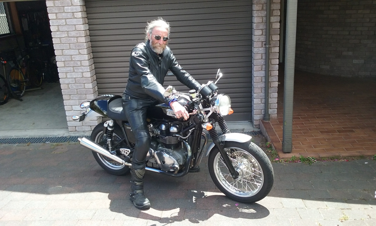 Pierre's first Thruxton