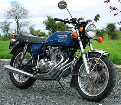 1975 Honda CB400 Super Sports