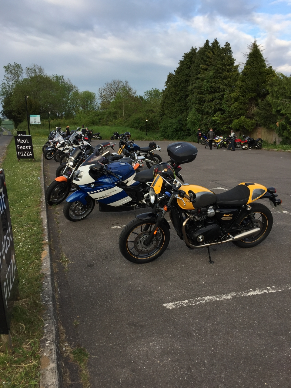Bike night at The Haven, Salisbury. Not a huge turnout but weather not good.