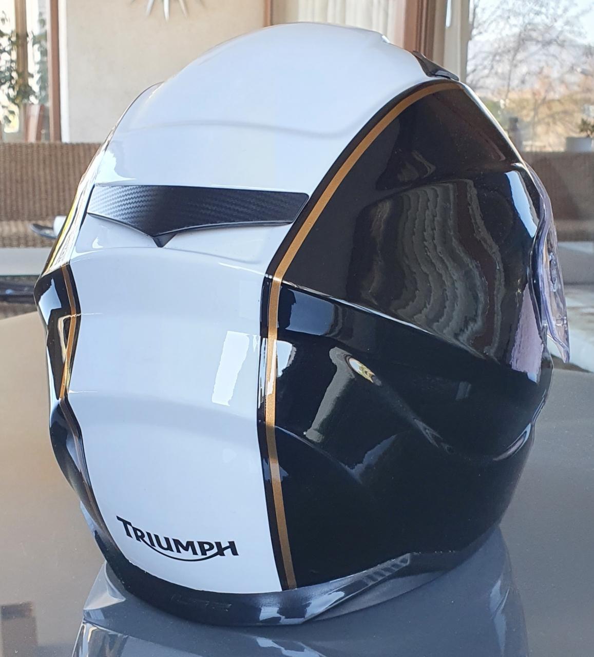 Helmet restailing
