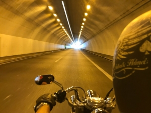 One of many Swiss tunnels
